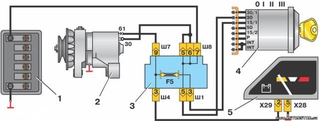«Схема подключения генератора ва з г222?» Яндекс